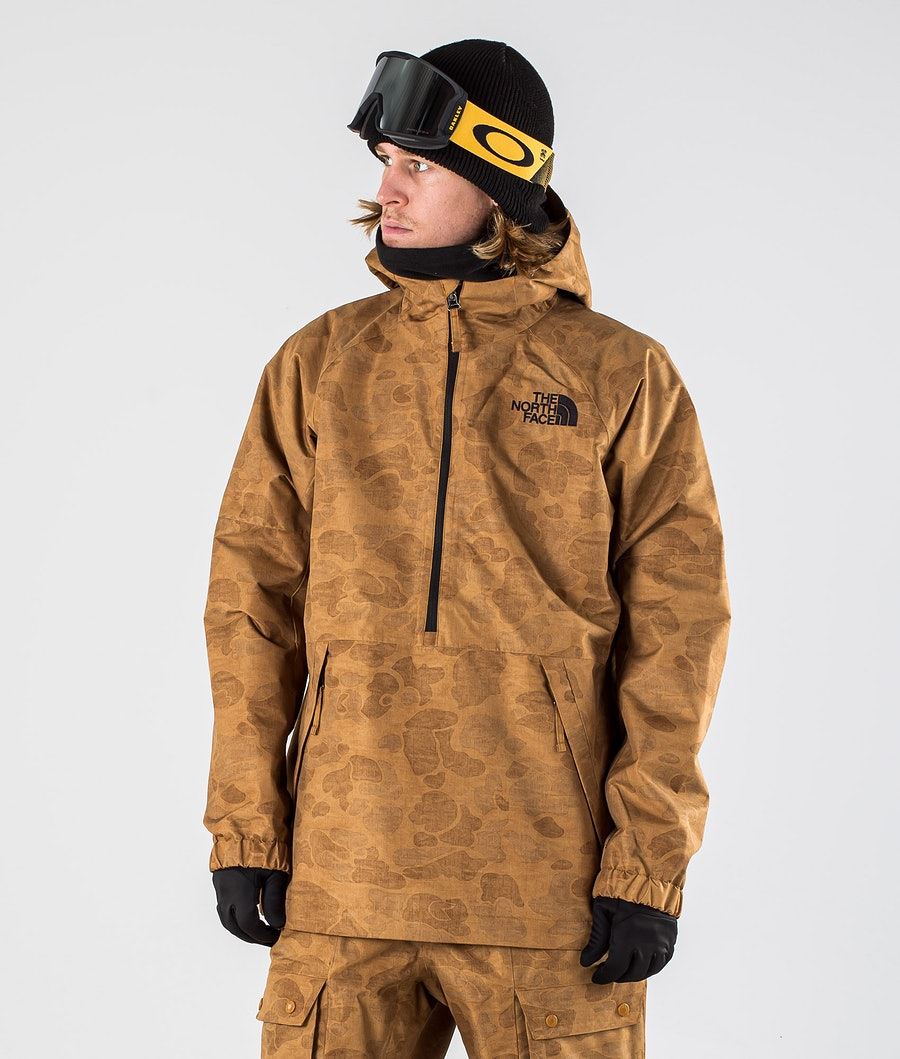 The North Face Up & Over Anorak Snowboardjacke Timbertantonalduckcamoprt