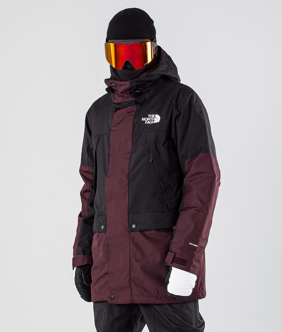 The North Face Goldmill Parka Snowboardjacke Root Brown/Tnf Black