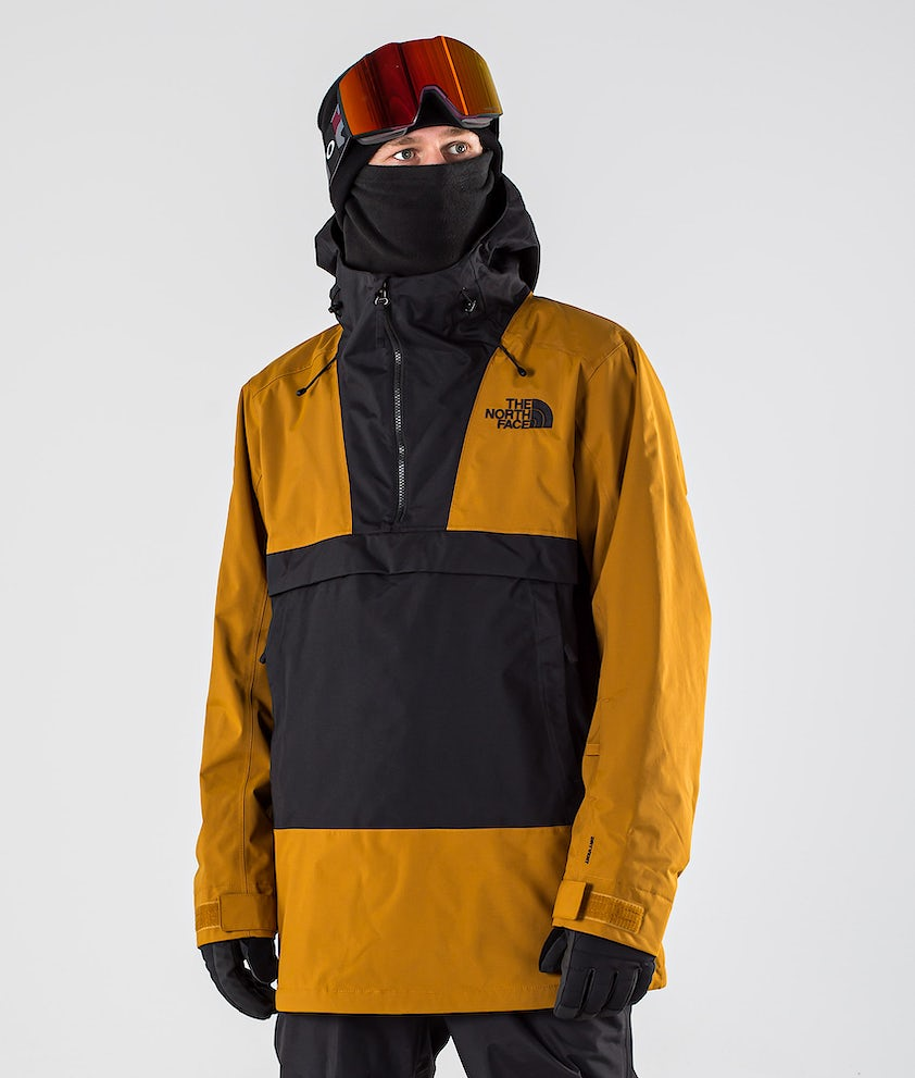 The North Face Silvani Anorak Snowboardjakke Timber Tan/Tnf Black