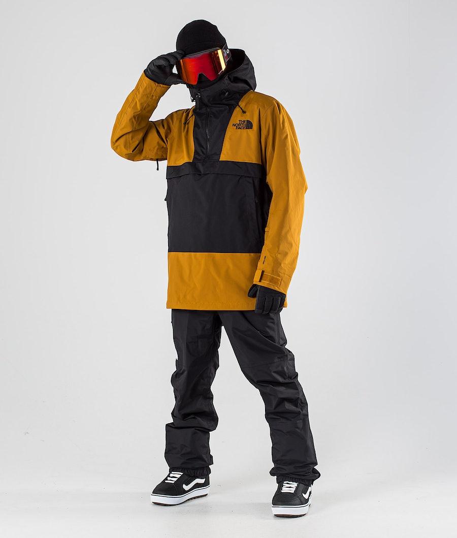 The North Face Silvani Anorak Snowboardjacka Timber Tan/Tnf Black