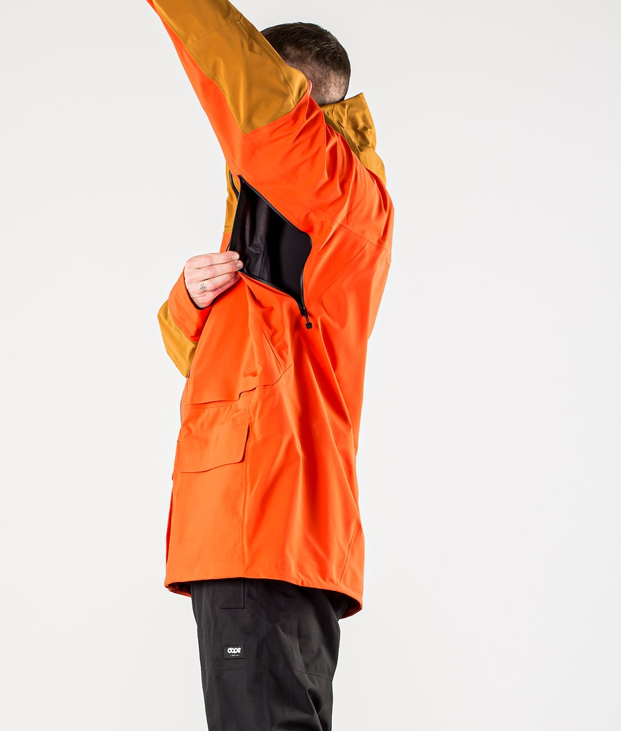The North Face A-Cad Futurelight Snowboardjacka Flare/Timber Tan