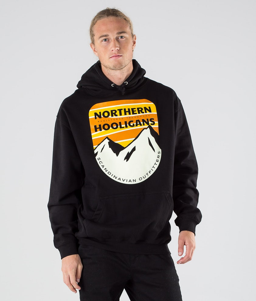 Northern Hooligans Scandinavian Outfitters Hood Black