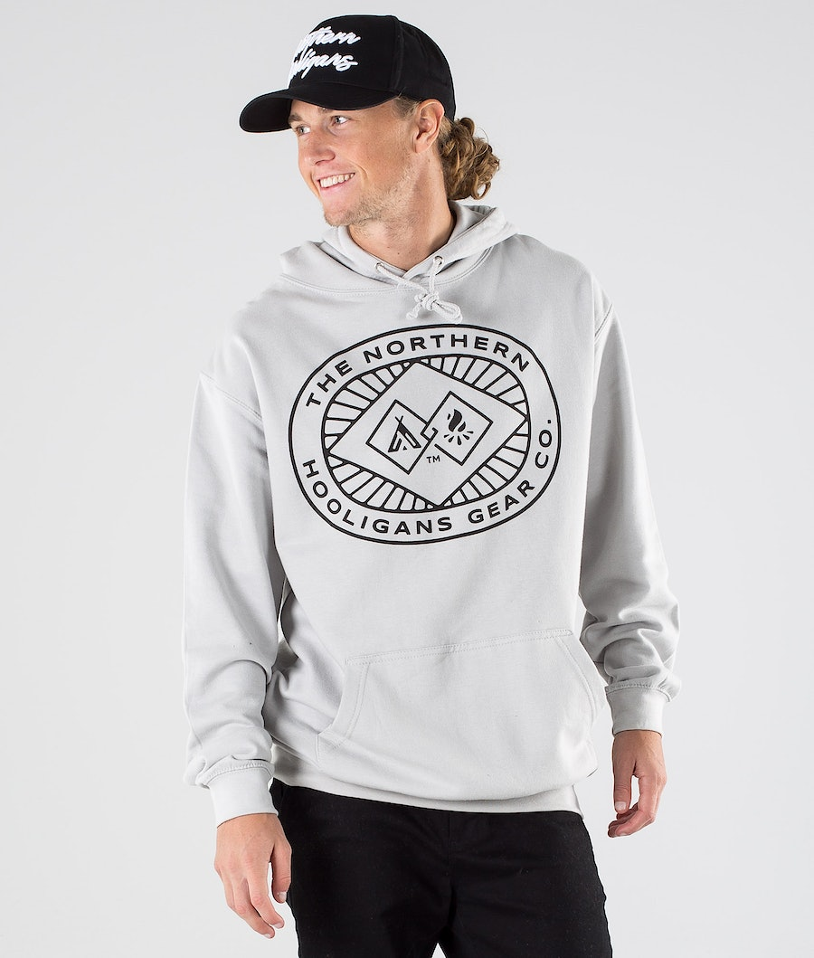 Northern Hooligans Icon Hoodie Stone Dust