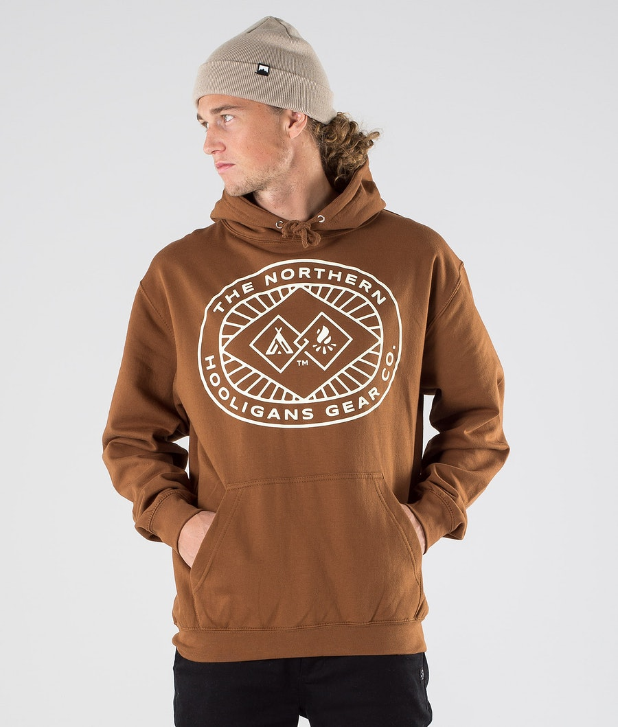 Northern Hooligans Icon Hoodie Caramel