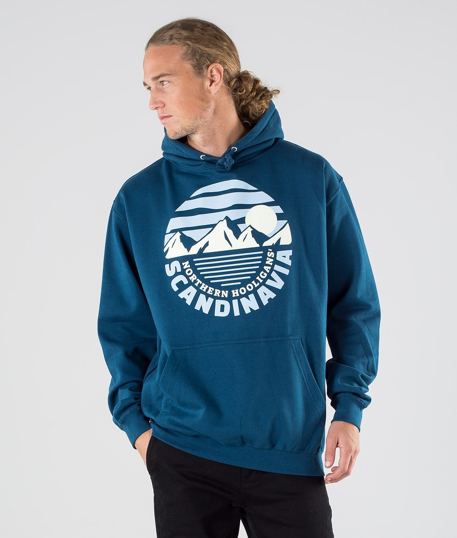 Northern Hooligans Moonlight Hoodie Ink Blue