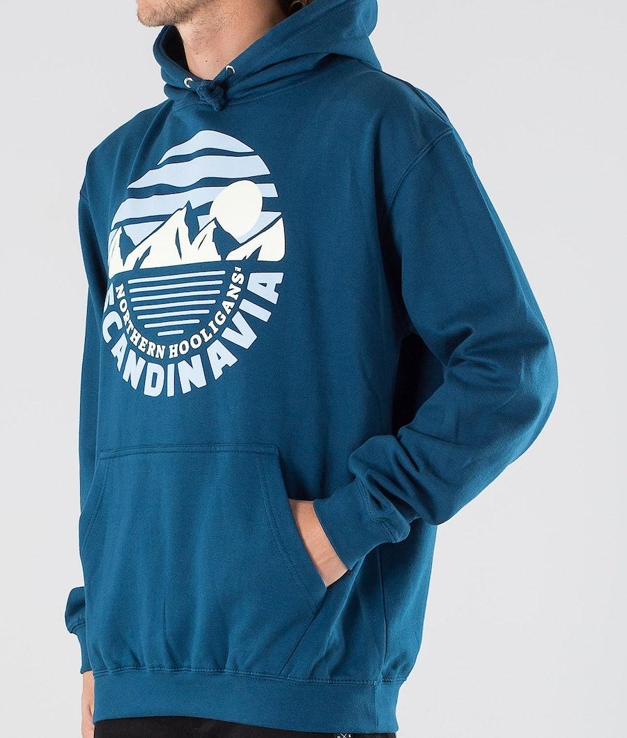 Northern Hooligans Moonlight Hood Ink Blue