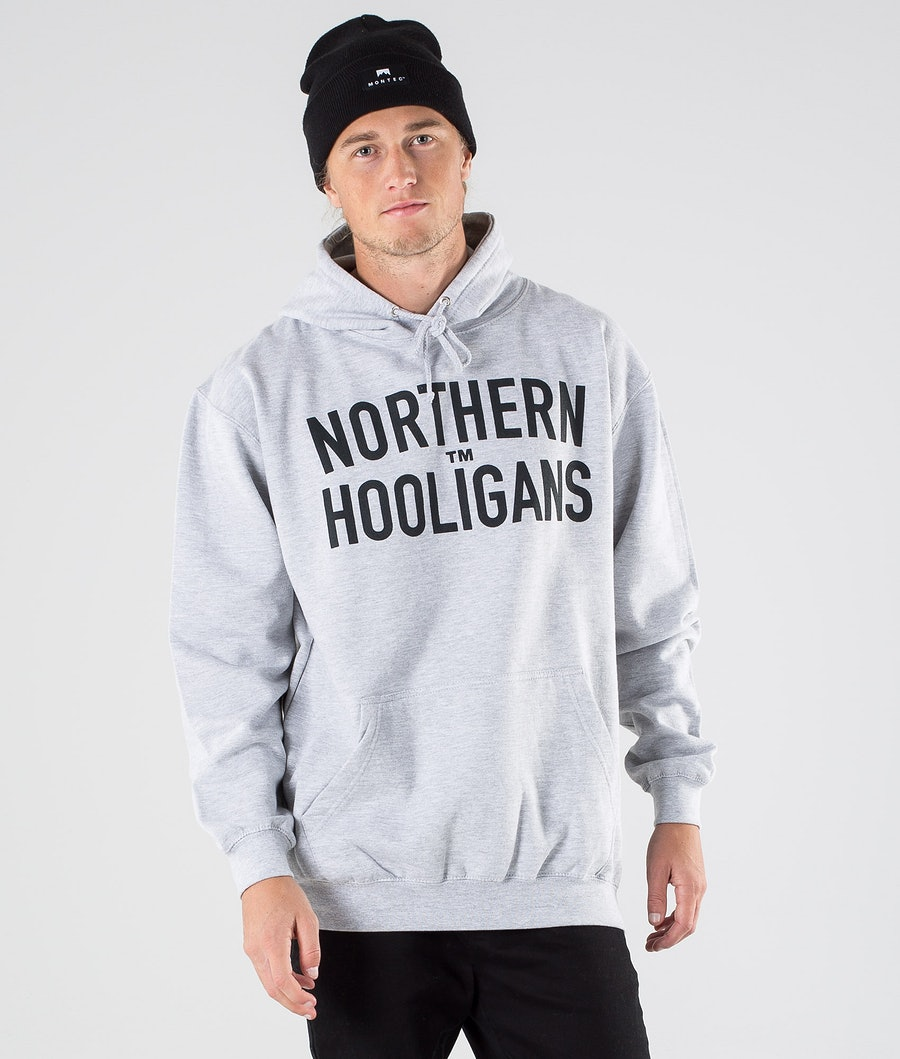 Northern Hooligans Hooligans Hoodie Heather Grey