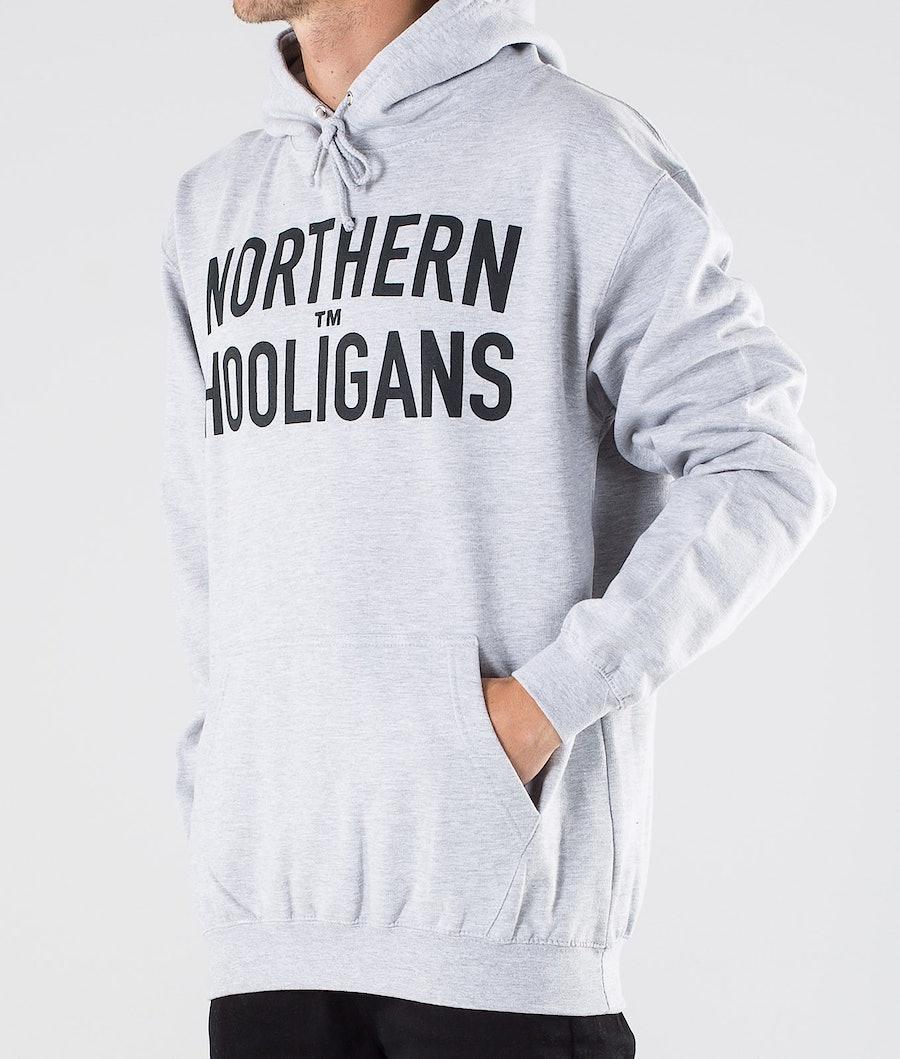 Northern Hooligans Hooligans Hood Heather Grey