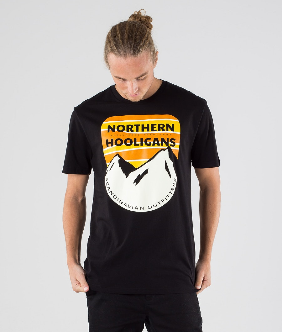 Northern Hooligans Scandinavian Outfitters T-shirt Black