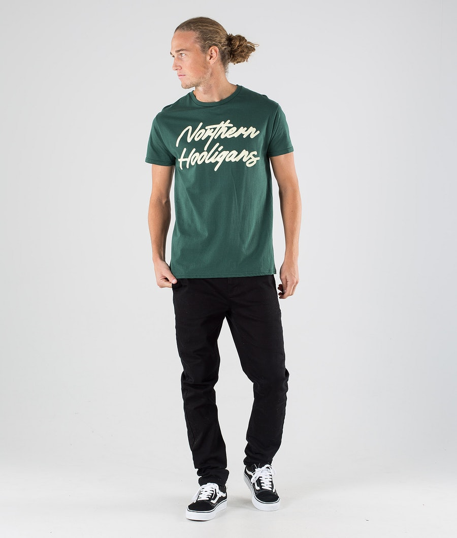 Northern Hooligans Script T-shirt Forrest