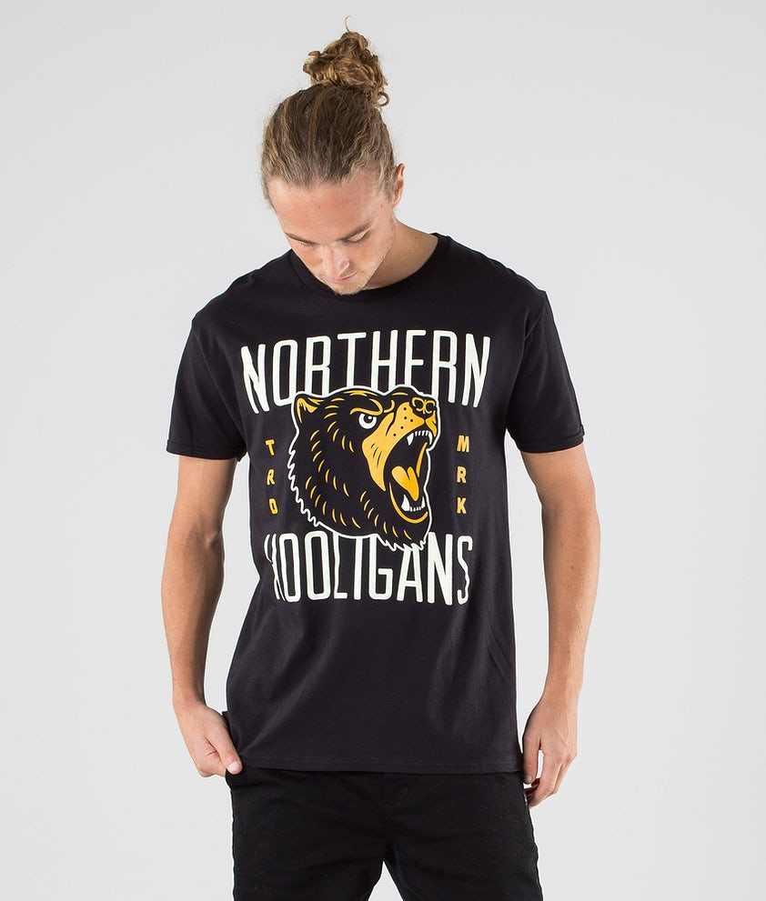 Northern Hooligans Bears T-shirt Black