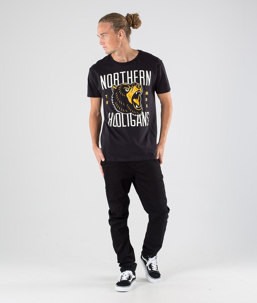 Northern Hooligans Bears T-shirt Black
