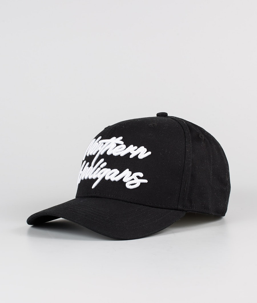 Northern Hooligans Script Snapback Cap Black