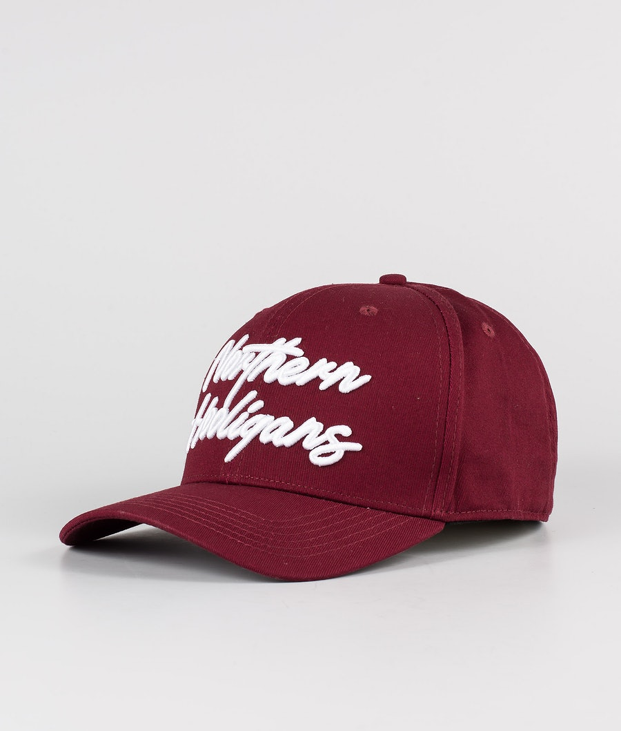 Northern Hooligans Script Snapback Pet Maroon