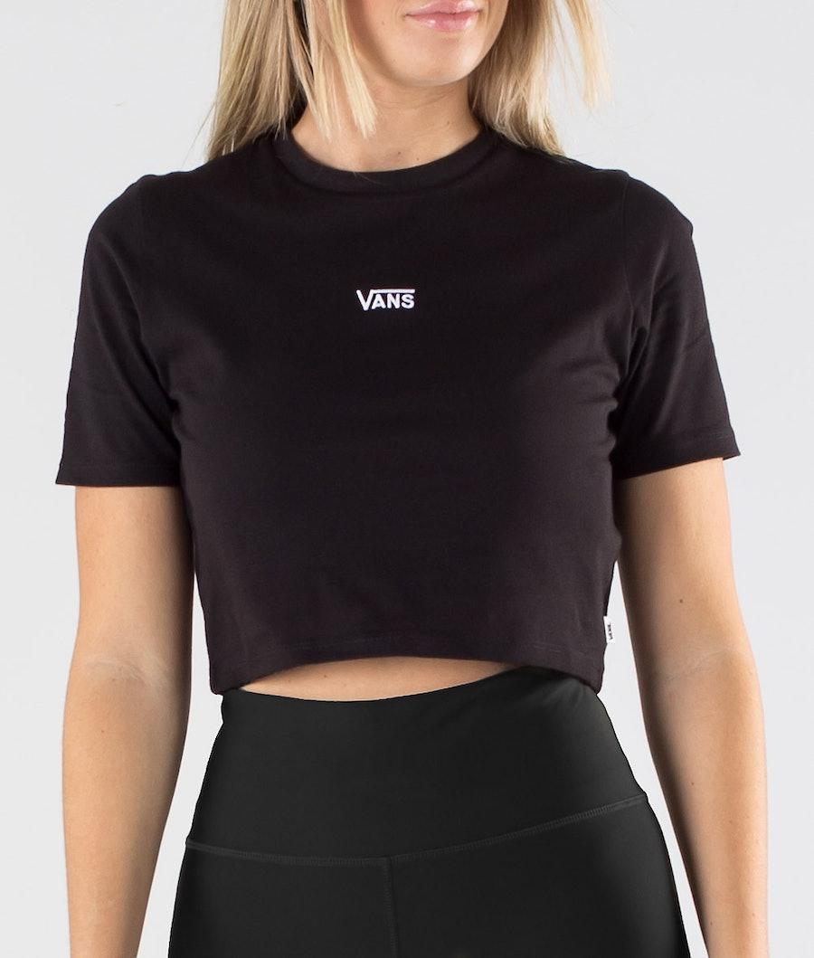 Vans Flying V Crop Crew Sport T-shirt Femme Black