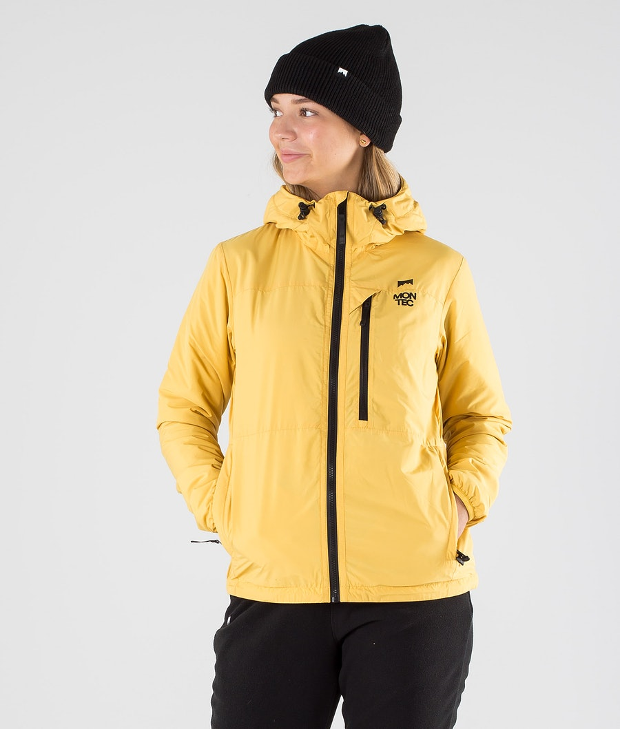 Montec Toasty W Jacket Yellow