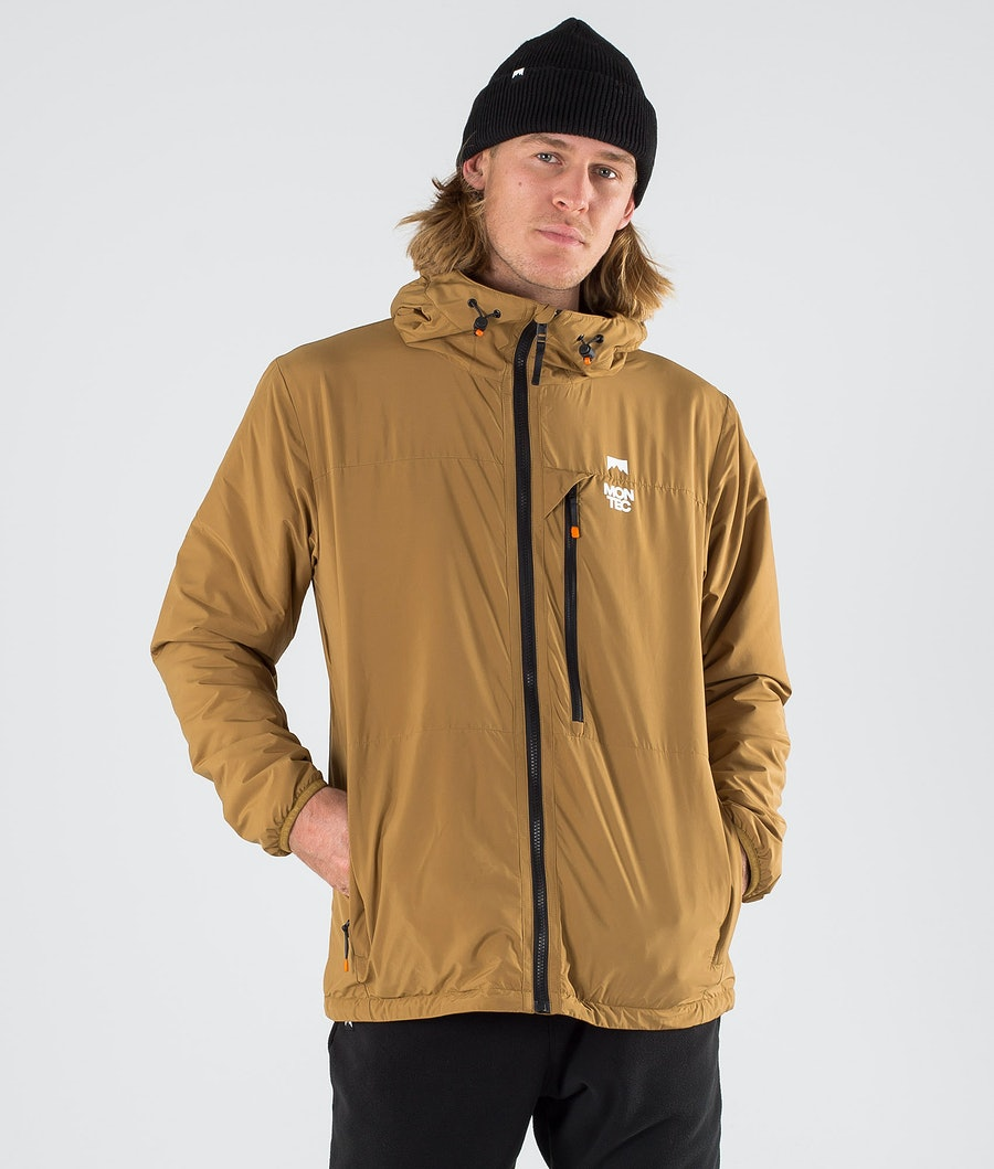 Montec Toasty Jacket Gold