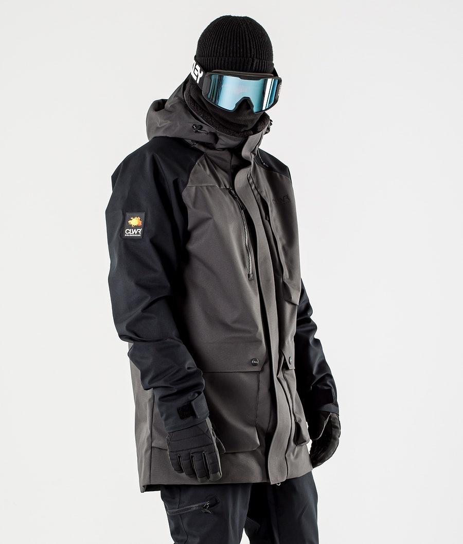 ColourWear Spine Snowboardjacke Antracithe