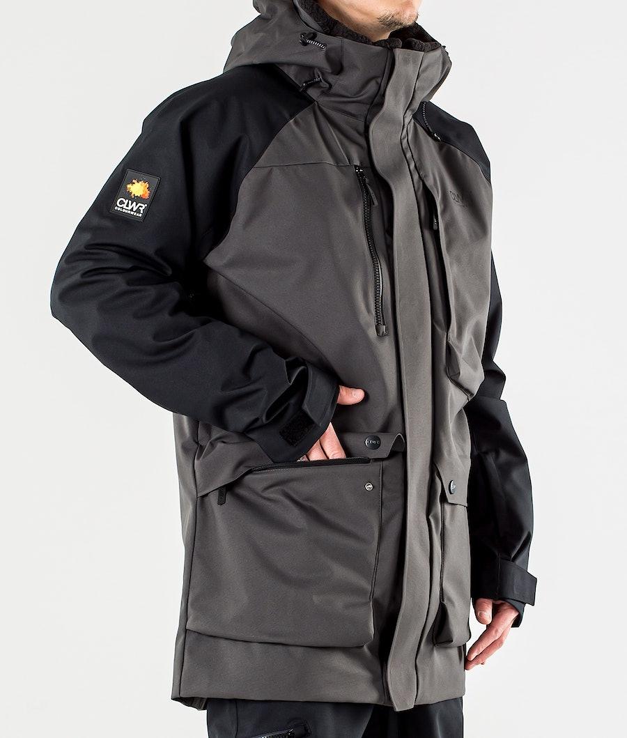 ColourWear Spine Snowboard Jacket Antracithe