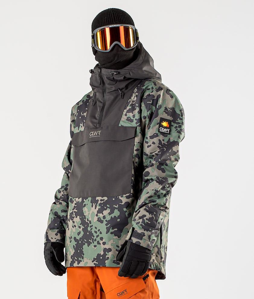 ColourWear Wear Anorak Snowboardjakke Khaki