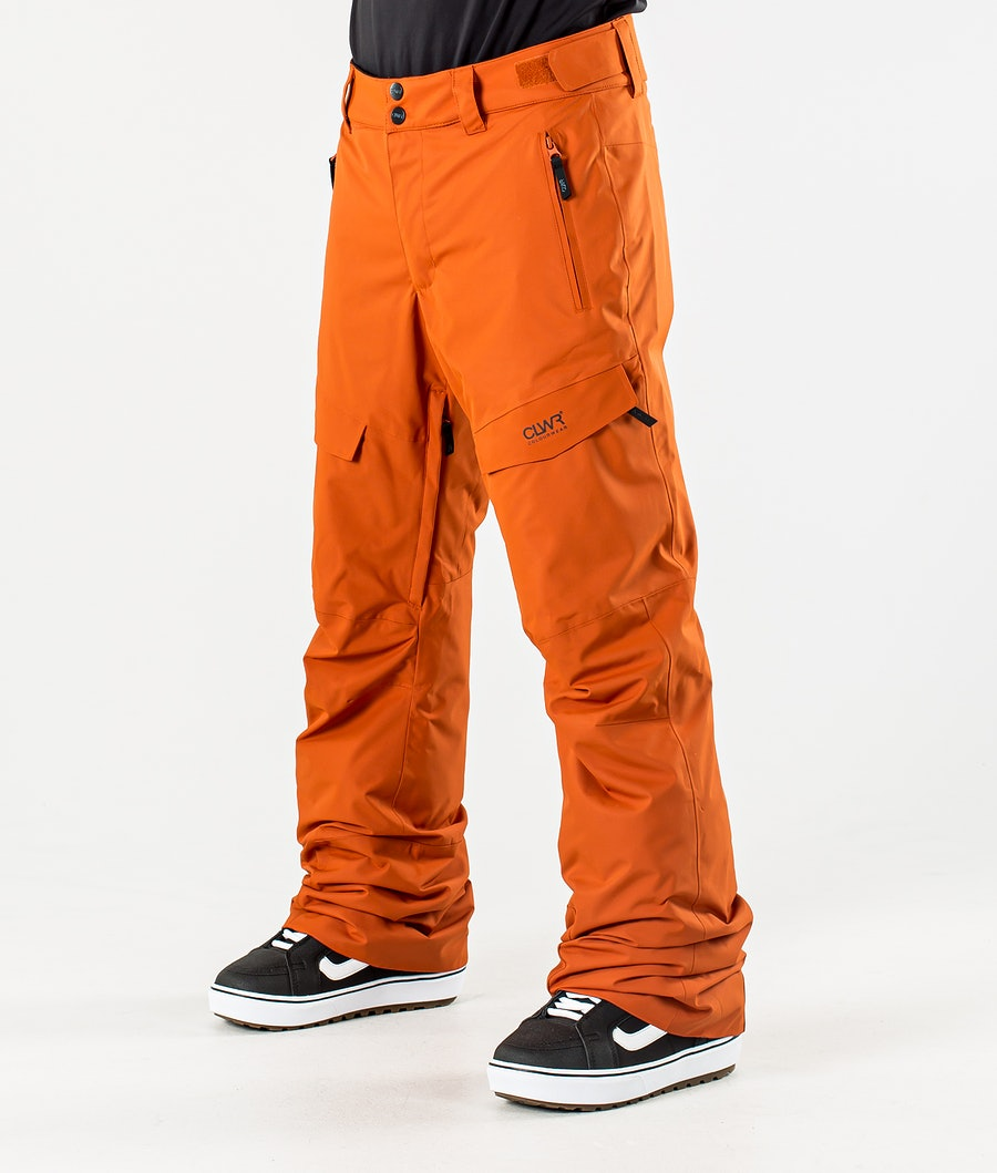 ColourWear Tilt Snowboard Pants Dark Orange