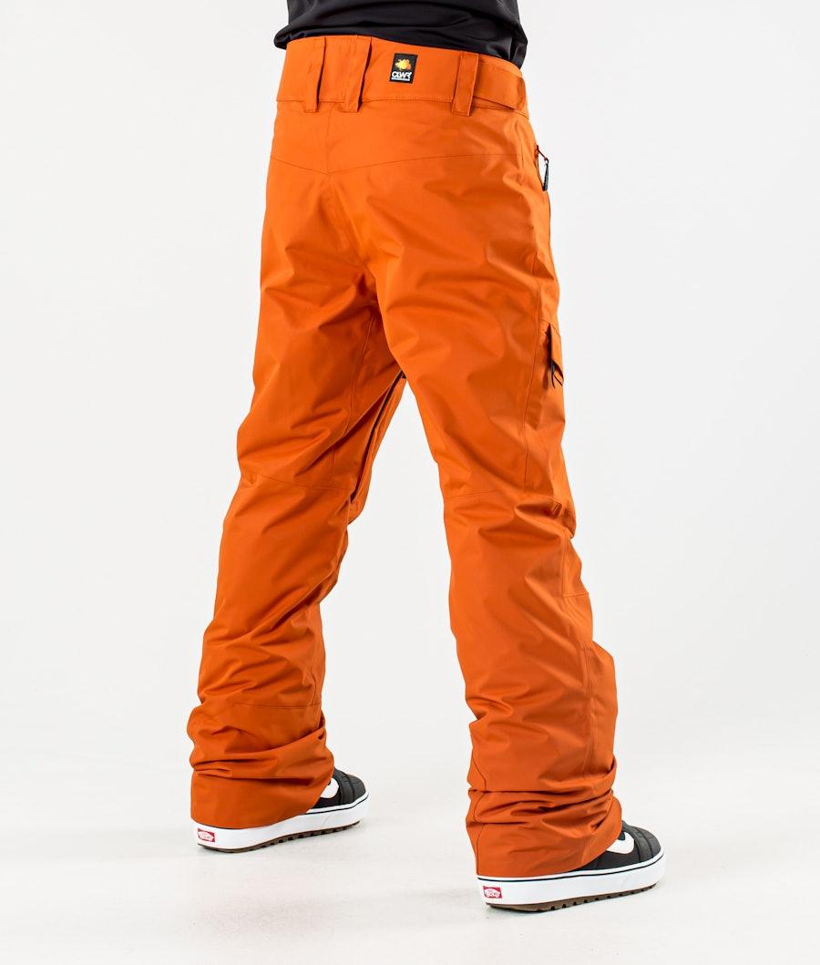 ColourWear Tilt Snowboard Pants Dark Orange