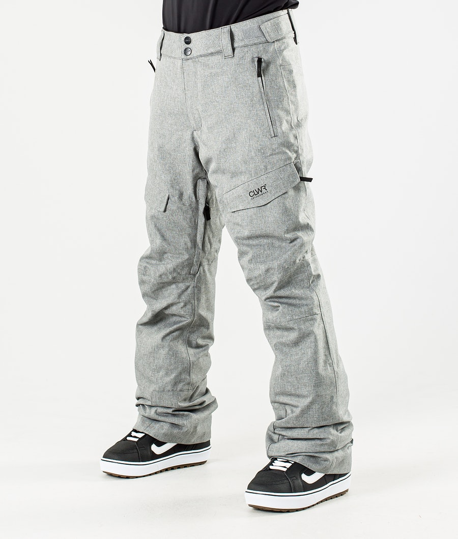 ColourWear Tilt Snowboard Pants Grey