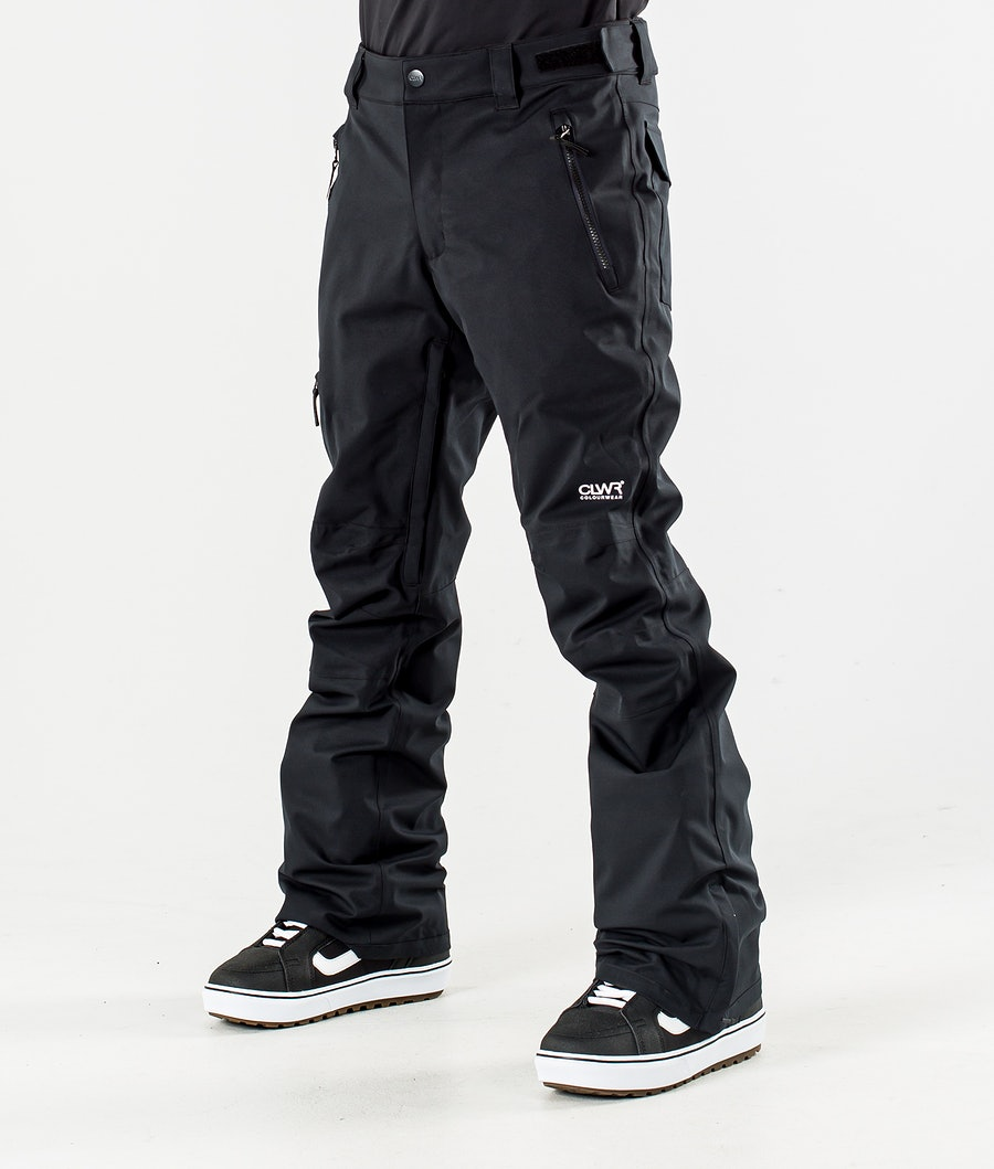 ColourWear Sharp Snowboardbyxa Black