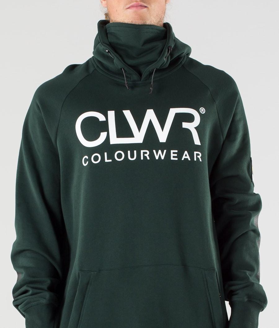 ColourWear Bowl Hoodie Green