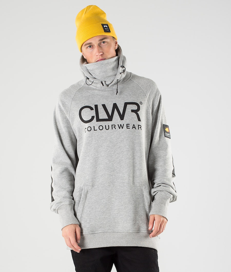 ColourWear Bowl Sweats à capuche Grey