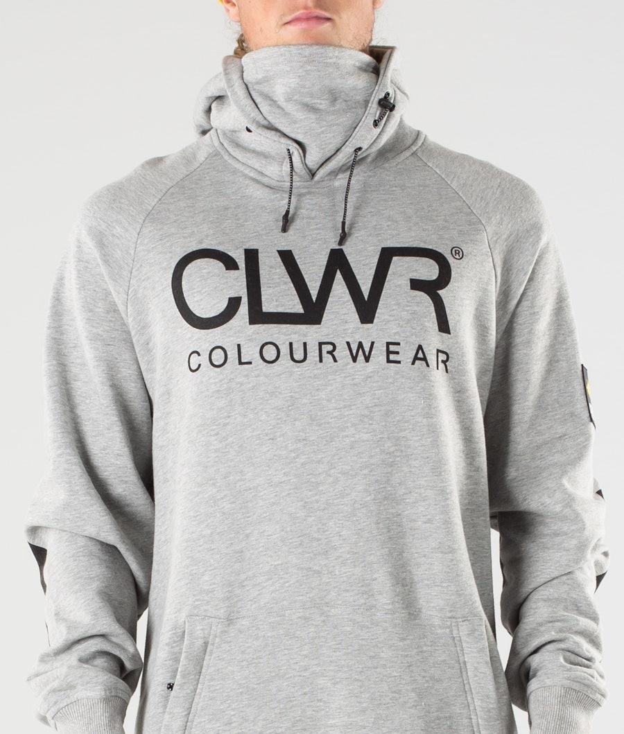 ColourWear Bowl Hoodie Grey