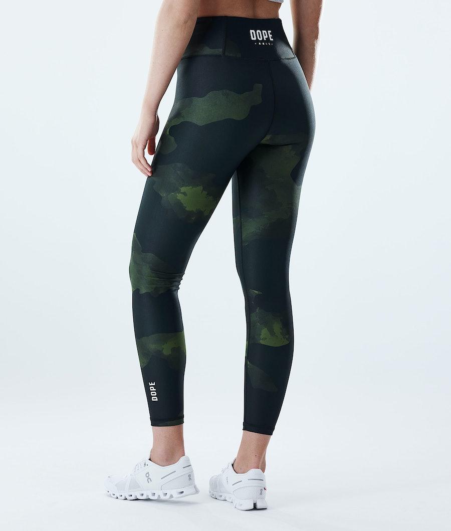Dope Lofty Leggingsit Green Camo