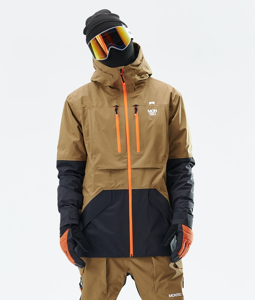 Montec Fenix 3L Snowboardjacka Gold/Black