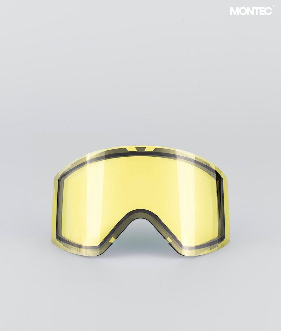 Montec Scope Large Extralins Snow Yellow