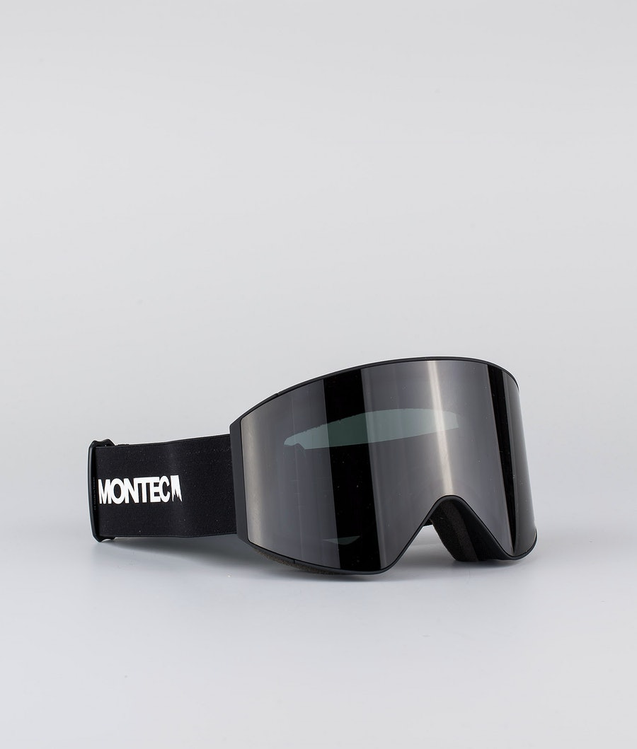 Montec Scope Large Skibrille Black W/ Black Black
