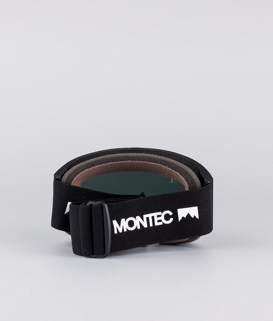 Montec Scope Large Ski Goggle Black W/ Black Black