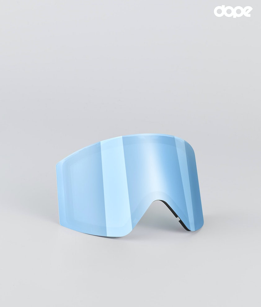 Dope Sight Large Replacement Lens Snow Blue Mirror
