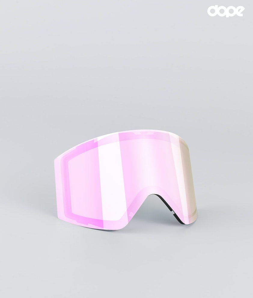 Dope Sight Large Replacement Lens Snow Pink Mirror