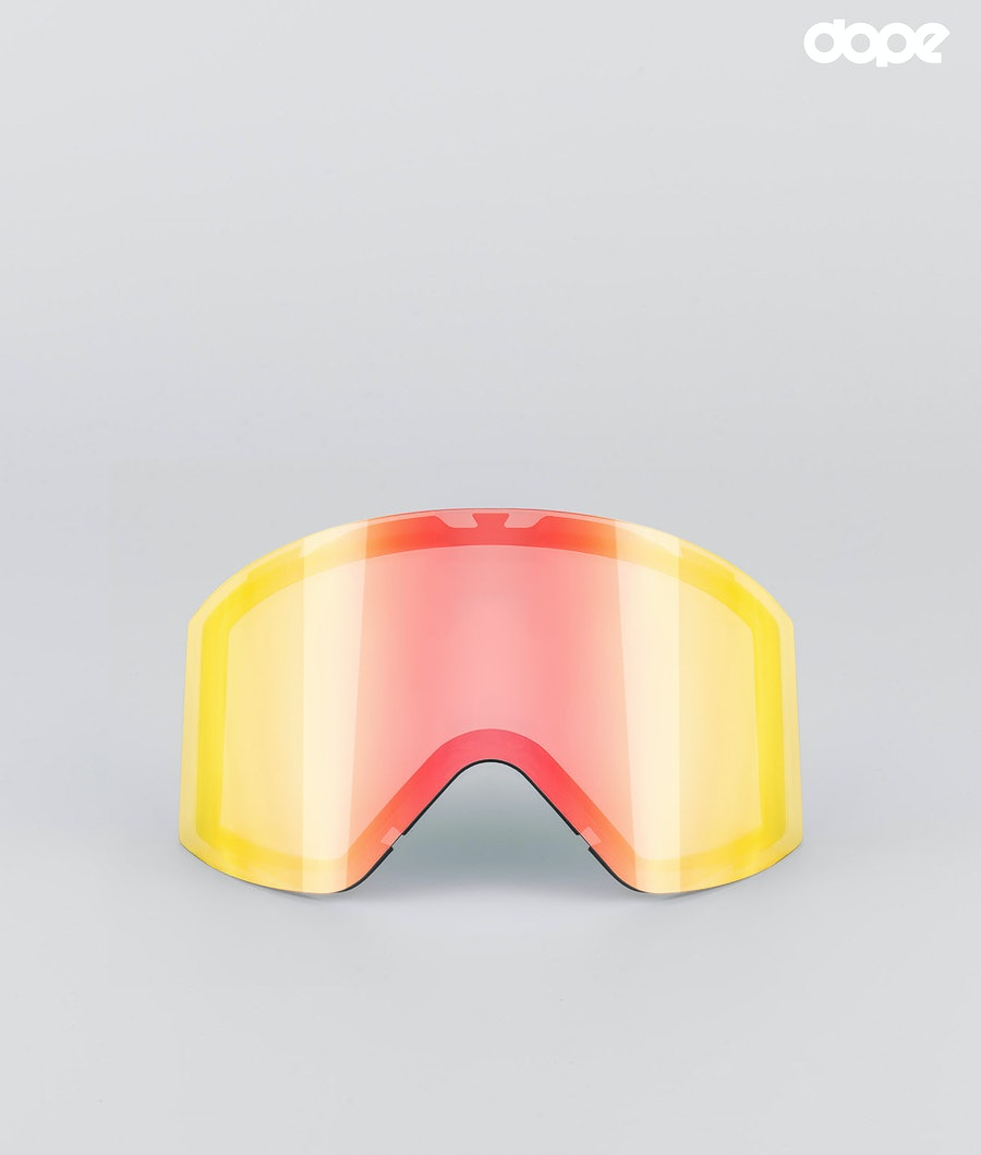 Dope Sight Large Replacement Lens Snow Red Mirror