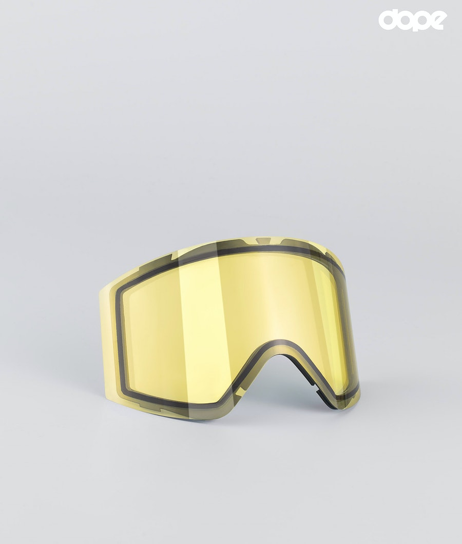 Dope Sight Large Replacement Lens Snow Yellow