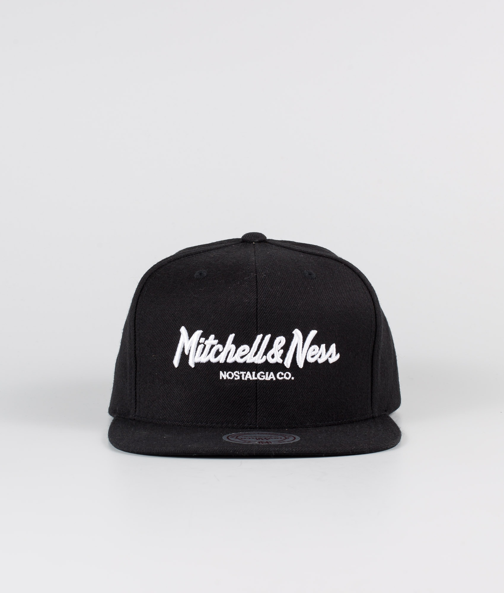 Mitchell /& Ness Script Traditional Crew ROYAL BLUE