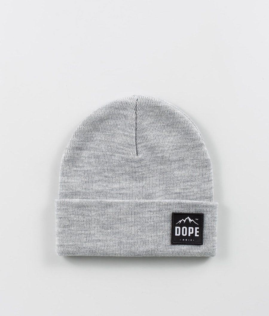 Dope Paradise Berretto Light Grey Melange