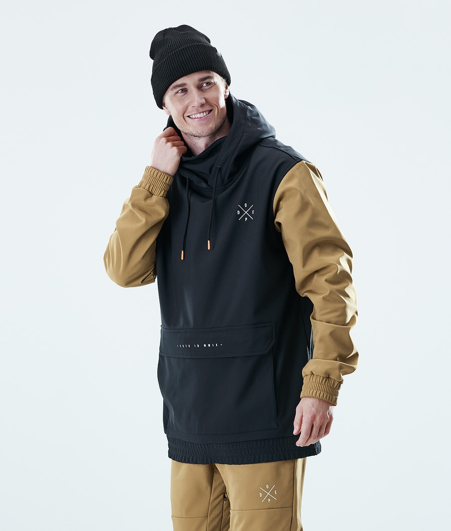 Dope Nomad Outdoor Jacka Gold/ Black