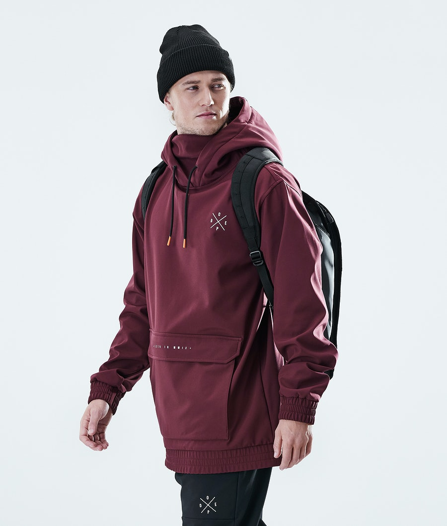 Dope Nomad Outdoor Jacka Burgundy