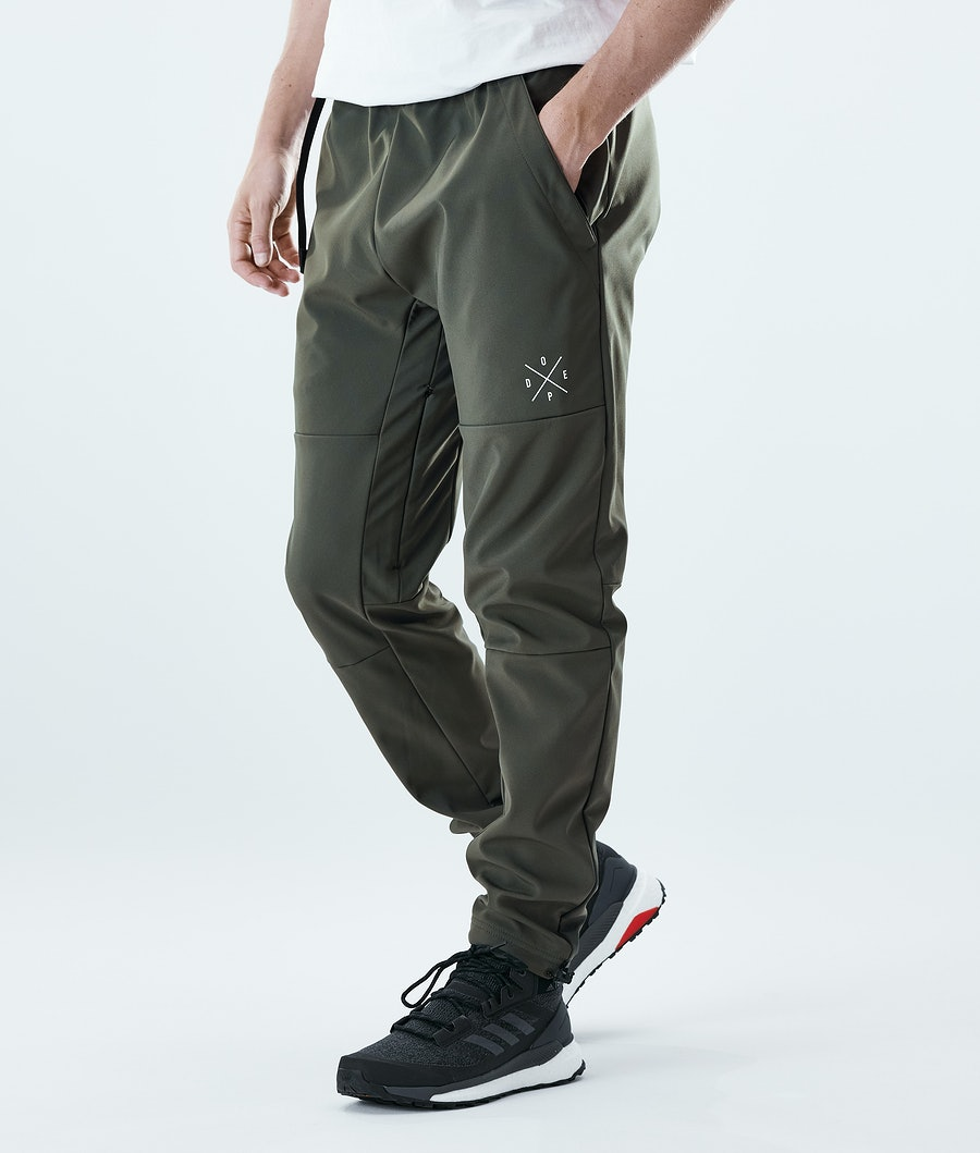 Dope Nomad Pantaloni Outdoor Olive Green