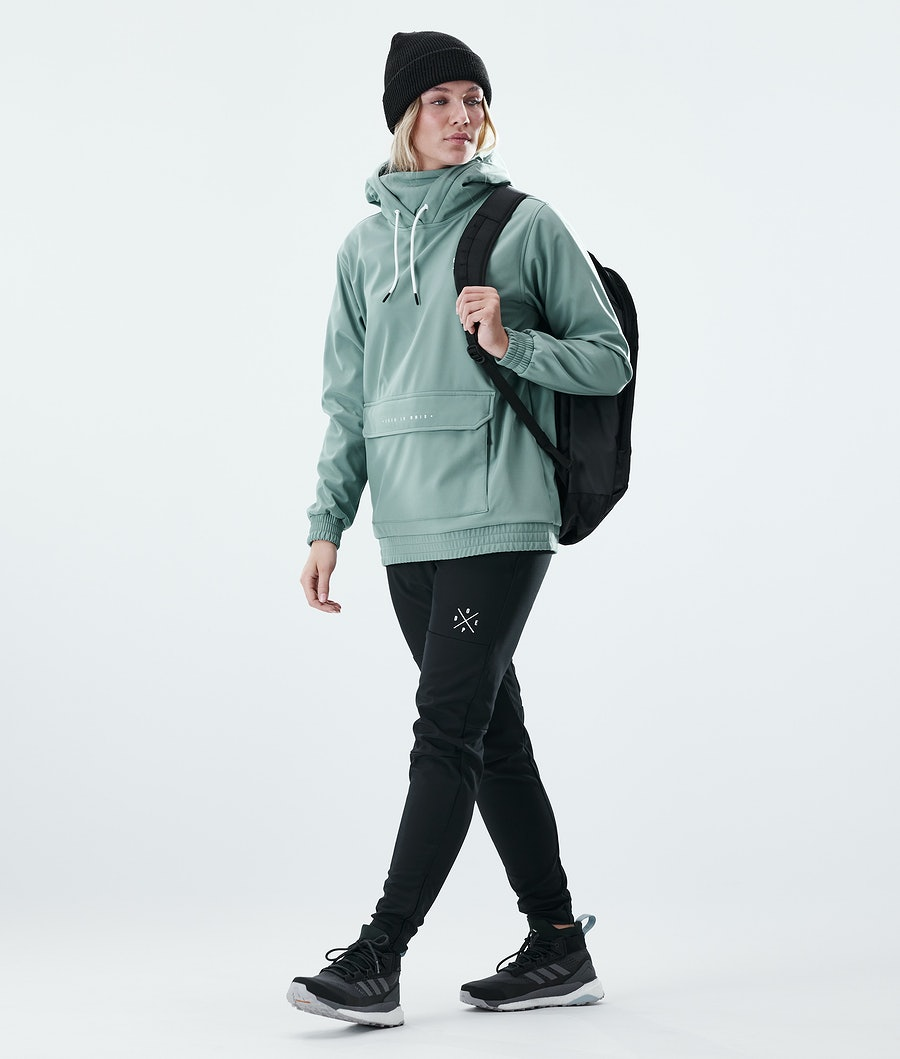 Dope Nomad Outdoor Jas Dames Faded Green