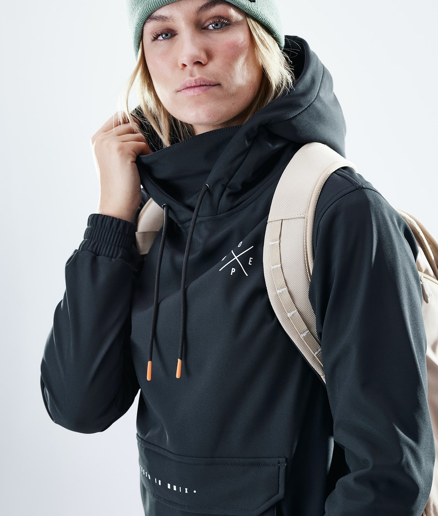 Dope Nomad Outdoor Jas Dames Black