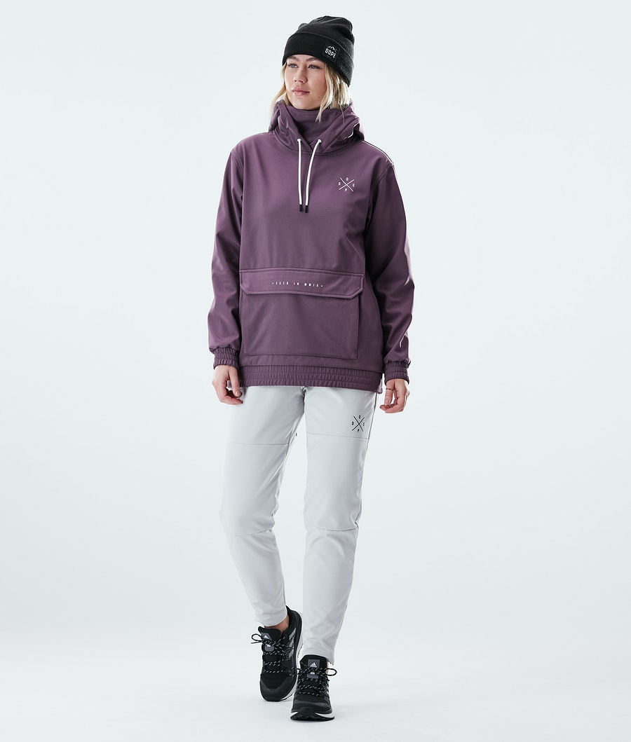 Dope Nomad Outdoor Jas Dames Faded grape