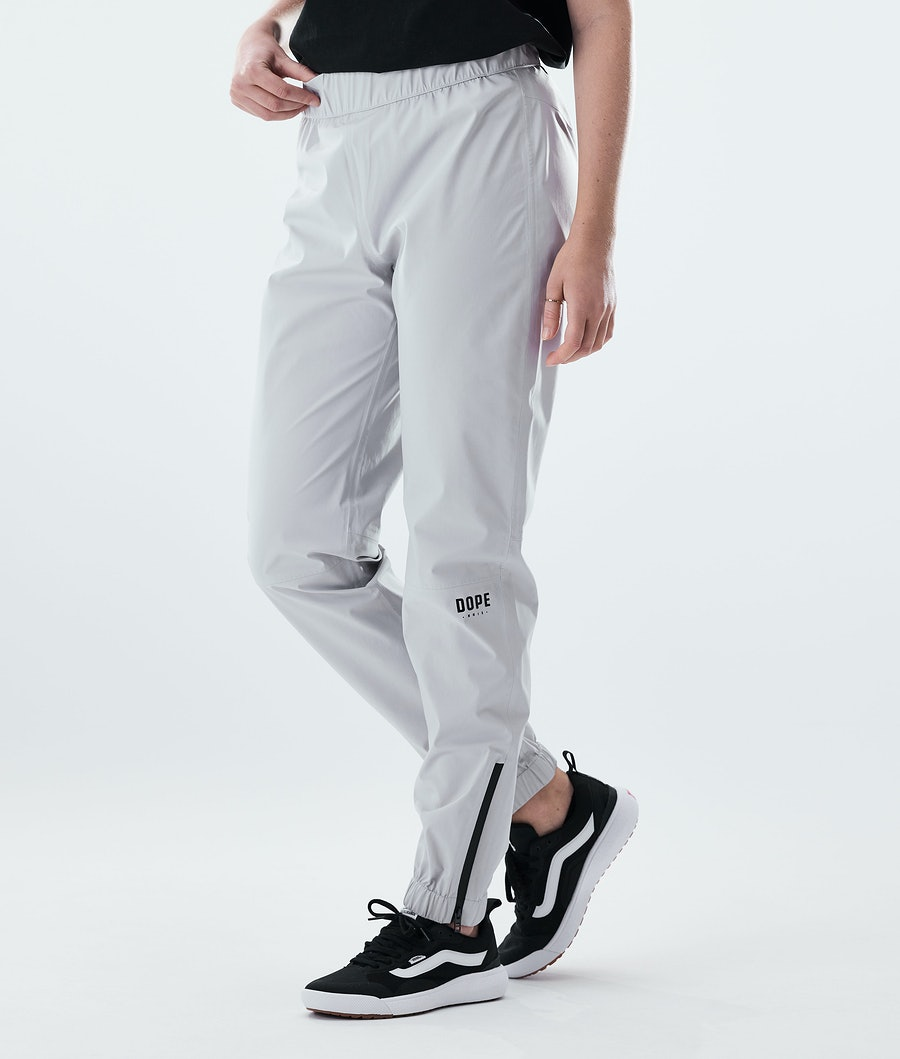 Dope Drizzard Pants W Pantaloni Antipioggia Light Grey