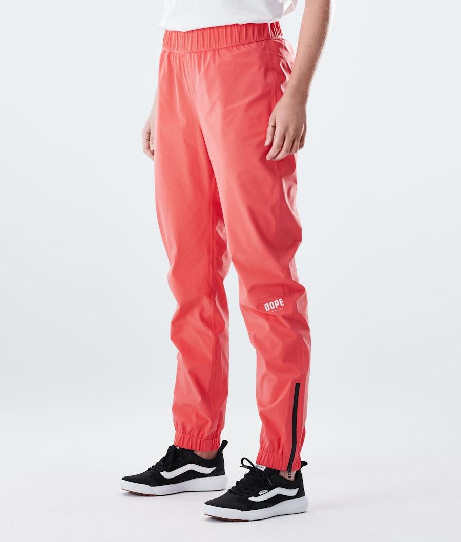 Dope Drizzard Pants W Regnbukse Coral